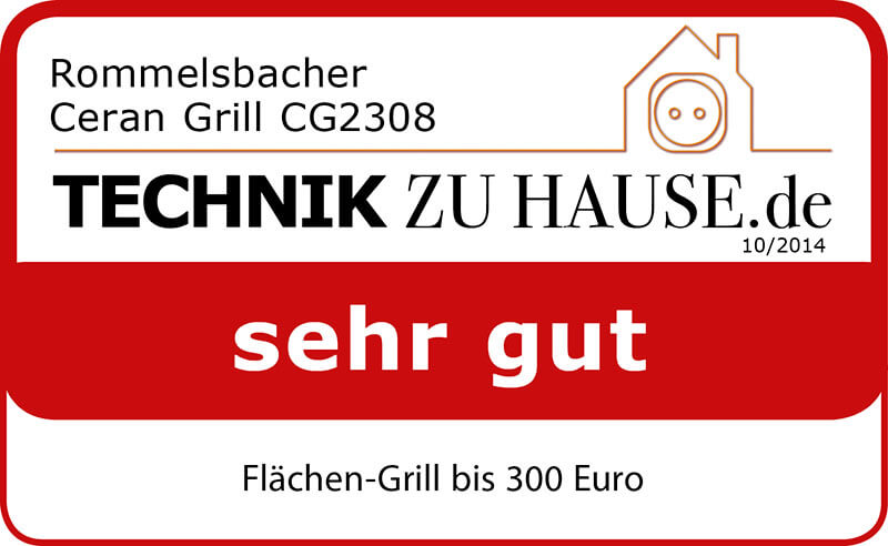 ceran grill cg 2308 tc rommelsbacher elektrohausger te gmbh. Black Bedroom Furniture Sets. Home Design Ideas