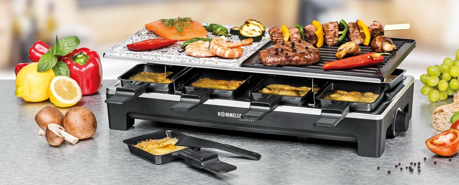 Rommelsbacher-RCS1350-Raclette-Grill-Header