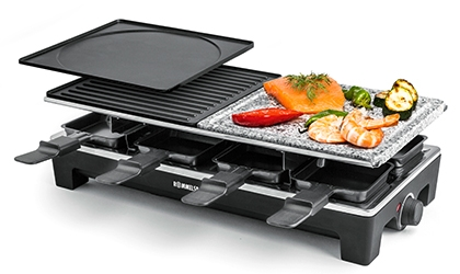 Rommelsbacher RCS 1350 - Kulinarisches vom Raclette Grill