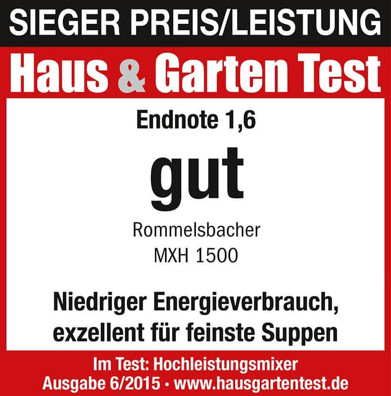 Rommelsbacher-Testlogo-Haus und Gartentest